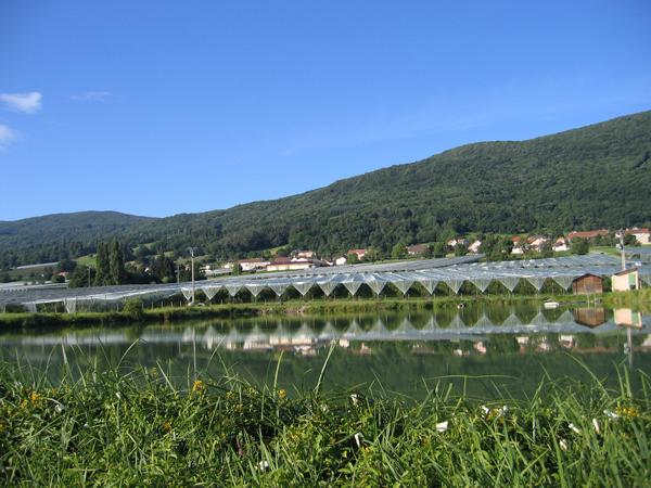 Le bas du village et le bassin