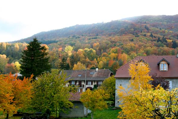 La haut du village et le Vuache